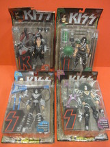Mc FARLANE Toys KISS Complete Set Ultra Action Figure Nip 1997 - $70.00