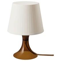 """IKEA LAMPAN Table lamp, brown 11 """" image 2"""