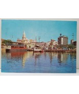 Cartagena Colombia, Ships Harbor 1970s Photo View Postcard A12 - $7.45
