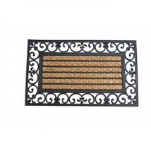 Striped Mat With Fleur-de-lis Border - $23.50