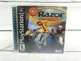 Razor Racing (Sony PlayStation 1, 2001) PS1 GAME COMPLETE Great Vintage Game - $6.60
