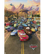 "CARS - DISNEY / PIXAR MOVIE POSTER (REGULAR STYLE) (SIZE: 24"" x 36"") - $17.00"