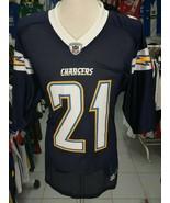 Trikot San Diego Chargers (XL)#21 Tomlinson Reebok NFL Shirt Jersey Maglia - $36.60