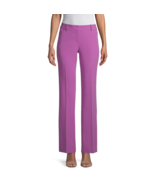 Worthington Modern Fit Straight Trouser Size 6, 8, 12, 14, 18 Purple New  - $14.99