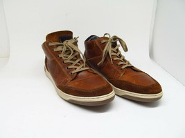 Bull Boxer Laytone Mens Cognac Perforated Leather Sneakers Size US 11 D ... - $47.53