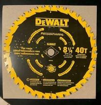 "DeWalt DW3185 8-1/4"" x 40 Tooth Precision Framing Saw Blade USA - $23.76"