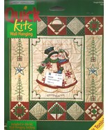 Vintage 2001 Daisy Kingdom Snuggle Up Quick Quilt Wall Hanging #4212-03153 - $25.00