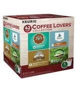 Keurig Coffee Lovers Variety Pack Coffee 42 or 84 Keurig K cups Pick Any Size - $39.99 - $74.99