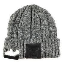 NEW ERA Chicago Bulls Patch Knit Beanie Adult One Size Black Grey Windy ... - $24.99