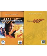 007 Goldeneye & The World is Not Enough N64 Nintendo 64 Instruction Manu... - $5.93