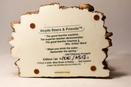 Boyds Bears: Miss Bruin & Bailey....The Lesson - Style 2259 image 6