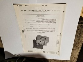 Vintage Photofact Folder Parts Manual - b1 - Tape Master Model PT-125 - $6.92