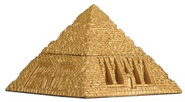 YTC Egyptian Pyramid Trinket Box - Collectible Figurine Statue Figure - $14.69