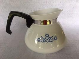 Estate Find~Corning Ware 6-Cup Teapot~~Cornflower Blue Design - $9.95