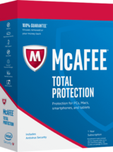 McAfee Premium Total Protection 2019 One Device Win, Mac, Android 18 Mot... - $3.99