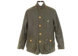 NEW Barbour J Crew Kempt  Mens Jacket Coat Small E0546 Olive - $275.99