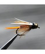 12pcs Brass Bead Head Nymph Trout Fishing Flies Fast Sinking Fly Bait Ho... - $9.95