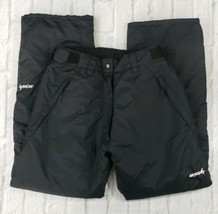 Ski Gear Women's Size Small Snowboarding Skiing Black Snow Pants  - $15.15