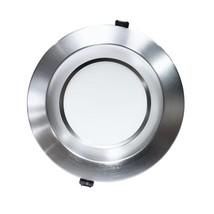 Housing-Free 8 in. Nickel Integrated LED Recessed Downlight Kit in 4000K - $100.94