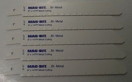 "Mag-Bit by Bosch 2608656705 614T 6"" x 14TPI Bi-Metal Recip Saw Blades 5pc Swiss - $4.21"