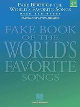 Fake Book of the World's Favorite Songs: C Edition (Fake Books) [Plastic... - $8.24