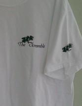 Irish Shamrock Scramble T Shirt Jerzees Short Sleeve Large - $10.39