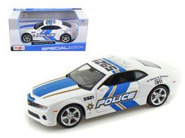 2010 Chevrolet Camaro RS SS Police 1/24 Diecast Model Car by Maisto - $31.90