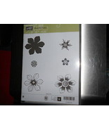 Stampin Up Wooden Stamp Set (new) BEAUTIFUL BUNCH (6 stamps) - $28.17