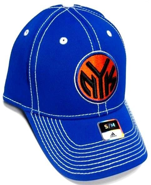 a3b0f4528ae New York Knicks NBA Adidas Blue Hat Cap and 50 similar items