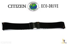 Citizen Conducción Ecológica. Navihawk JY8035-55E Caucho Negro - $131.94