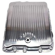 A-Team Performance Aluminum Transmission Pan With Gasket And Bolts Compatible Wi