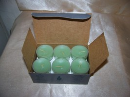 Party Light Tea lights honeydew set of12 - $6.32