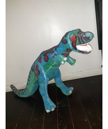 "Melissa & Doug Plush T-Rex Dinosaur~ Large Posable 39"" Stuffed Animal #2149~ EUC - $19.80"