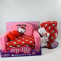 """My Life As Hello Kitty Doll SET Sofa Couch, Sleeping Bag for 18"""" Dolls - $34.64"""