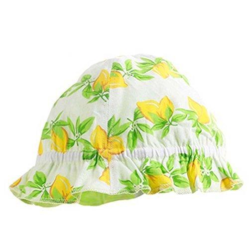 Summer Outdoor Sun-resistant Printing Flower Baby Fisherman Cap Infant Hat