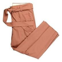 J Crew Womens Collection Blush Tie-Waist Pants Wear to Work Career Sz 8 ... - $82.79