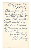 Scott UX5 Elkader IA Iowa 1877 to Garnavillo Fancy Cork Cancel Geometric Wedges image 2