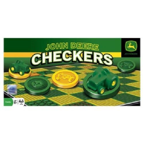 John Deere Classic Checkers Game by Masterpieces Puzzles Co.