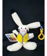 2002 Salt Lake Olympics POWDER Bunny Rabbit Mascot Plush Original Tags B... - $10.68