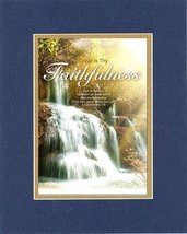 Great is Thy Faithfulness - 1 Corinthians 1:9 . . 8 x 10 Inches Biblical/Religio - $11.14
