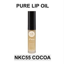 NICKA K NEW YORK PURE LIP OIL NKC55 COCOA HYDRATING LIP WITH ARGAN OIL - $1.99