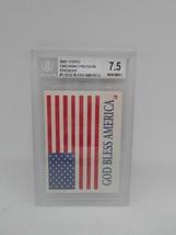 2001 Topps Enduring Freedom Stickers #1 Glod Bless America Beckett Grade 7.5 NM+ - $1.99
