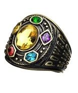 Marvel Avengers Infinity War Gauntlet Class of Infinity Power Ring Thano... - $114.99