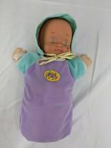 "Mattel Magic Nursery Doll Plush 12"" 1991 Clothes - $19.95"
