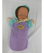 "Mattel Magic Nursery Doll Plush 12"" 1991 Clothes - $17.95"