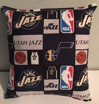 Jazz, Pillow Utah, Jazz, Pillow NBA Handmade in USA Pillow, Basketball, ... - $9.97