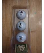 NEW Vintage Disney Golf Balls Trophy Series Three Classics Acushnet Goof... - $9.90