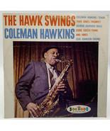 Coleman Hawkins Record Crown Records The Hawk Swings Jazz CLP 5207 Vinta... - $12.30
