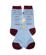 Age Only Matters Foot Traffic Trouser Crew Socks New Women's Size 9-11 F... - $9.95