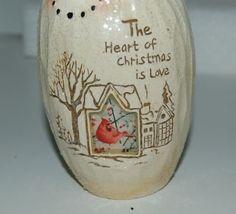 Bright Ideas HF086 Snowman Tea Light Holder The Heart of Christmas  Love Cardina image 6